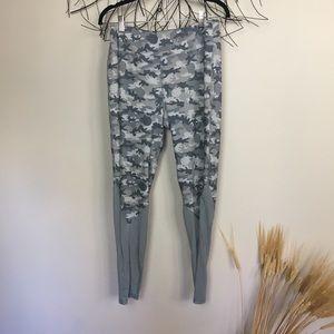 STARWARS athletic leggings.Camo. Xl grey high rise
